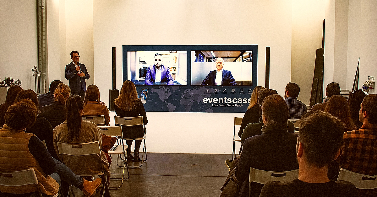 eventscase evento corporativo global 2020 - EventsCase ha desarrollado más de 1.500 eventos en 2019