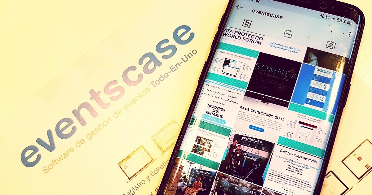 eventscase instagram 1 - Ideas para Marketing de Eventos: Promoción en Redes Sociales