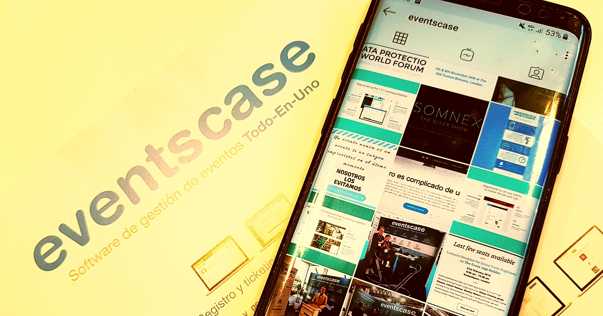 eventscase instagram - Cómo utilizar Instagram para Promover tu Evento