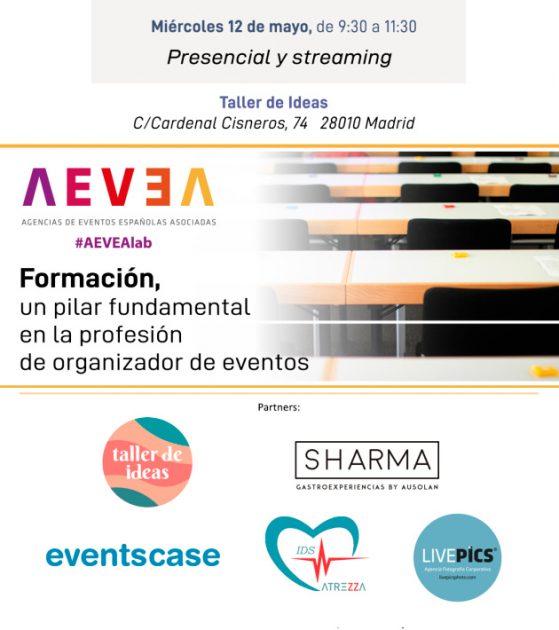 Sesión AEVEA organizada con la plataforma EventsCase